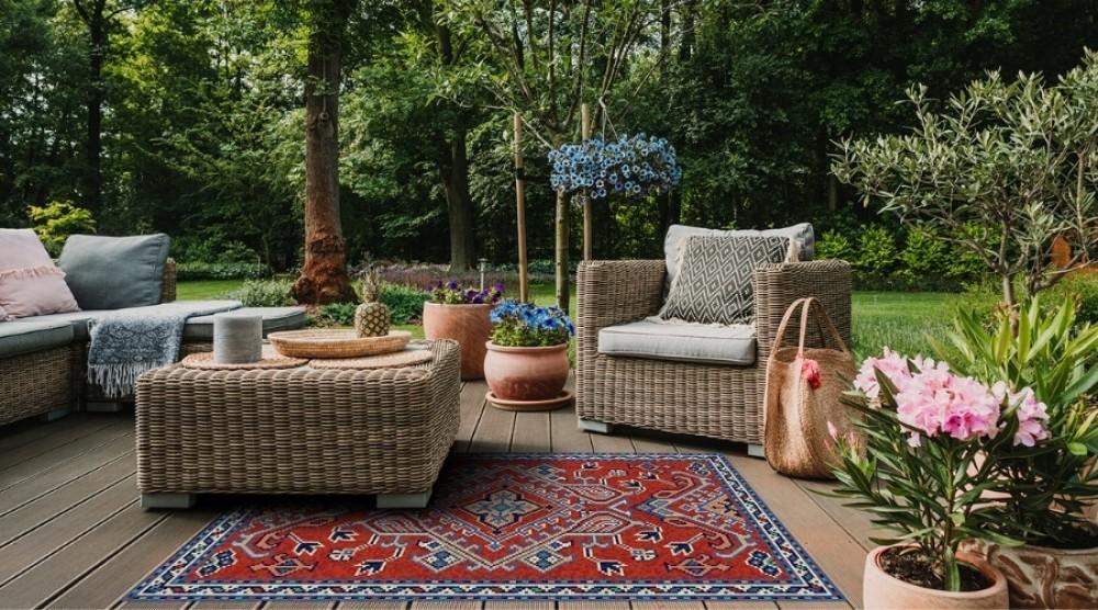 dodatki na taras - dywan tarasowy